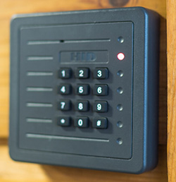 Access your property 24/7 with a secure keypad